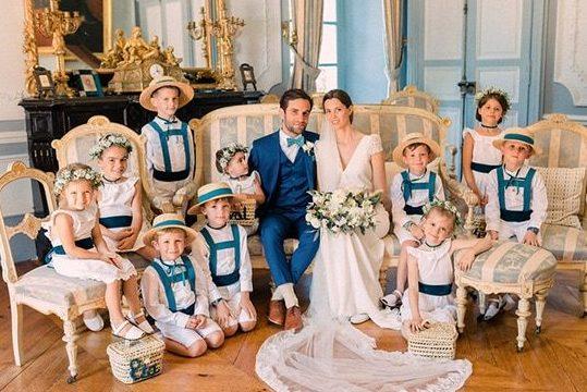 Photo de mariage au château de Garrevaques, un mariage chic et élégant pres de Toulouse